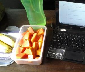 Mengutamakan buah lokal, sehat-hemat-minim residu pestisida