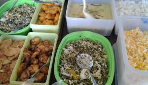 FC, makan boleh sampai kenyang, yang penting paduannya. Protein hewani gak boleh ketemu  karbo