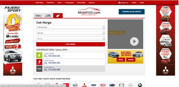 mobil123 hasil pencarian