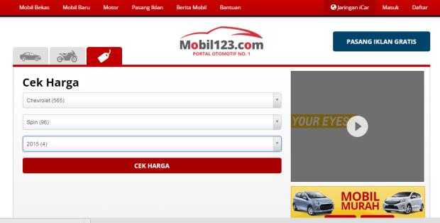 mobil123 pencarian